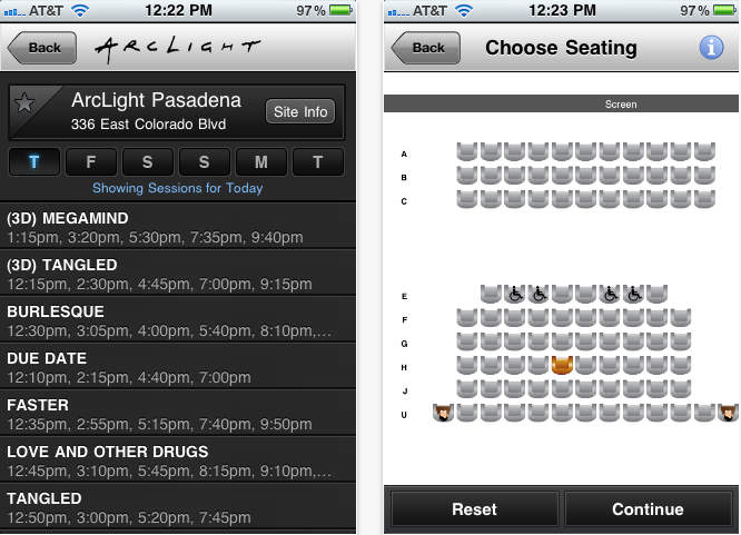 ArcLight App (11 Best Apps to Make Life Easier Living in LA).