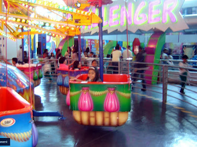 Colorful Amusement Ride
