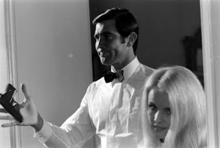 George Lazenby audition for James Bond