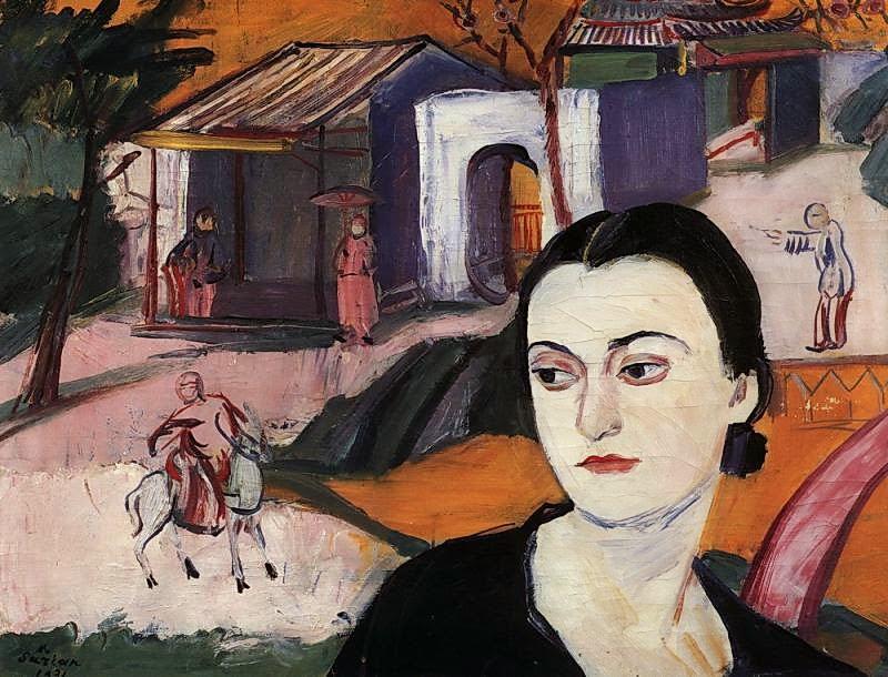 Martiros Saryan - Portrait of Victoria Alabyan, 1931