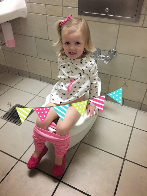 One Of Our Stops Was The Mall And I So Excited To Use Little Toilet In Family Bathroom Know Weird But It Fun