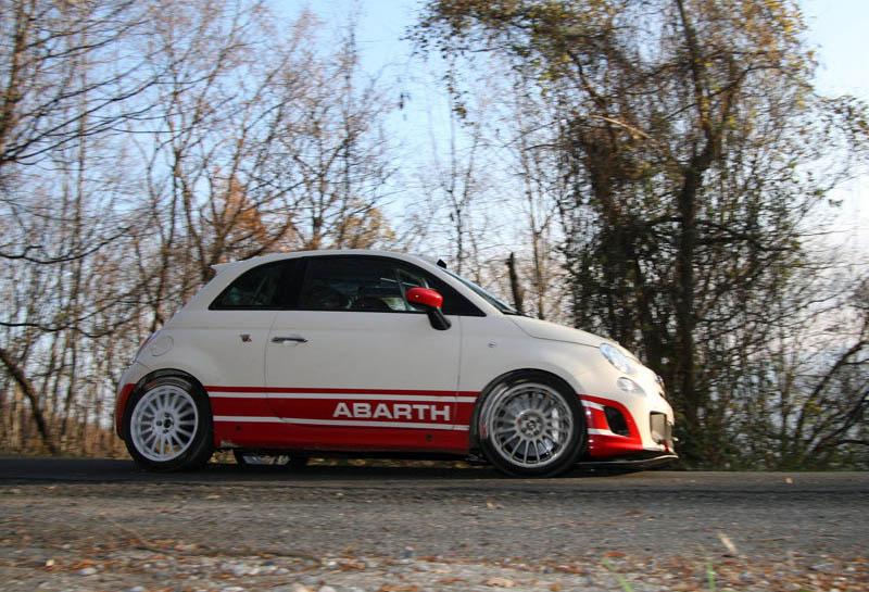Fiat 500 Abarth R3t 2010