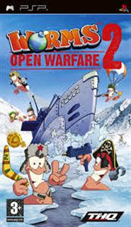 Worms Open Warfare 2   PSP