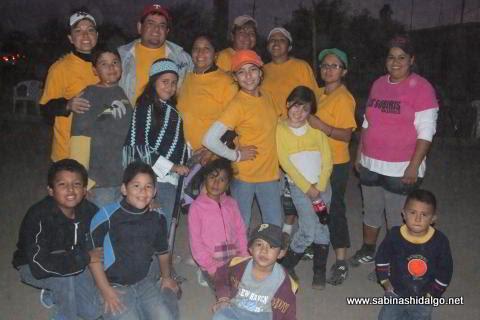 Equipo Chicas Sertoma de softbol femenil