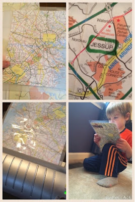 Using maps to play and learn.