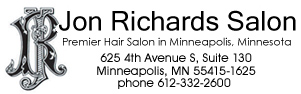 Contact our hair salon in Minneapolis, Minnesota, for hair extensions, highlights, updos and eyelash extensions. Jon Richards,hair salon.