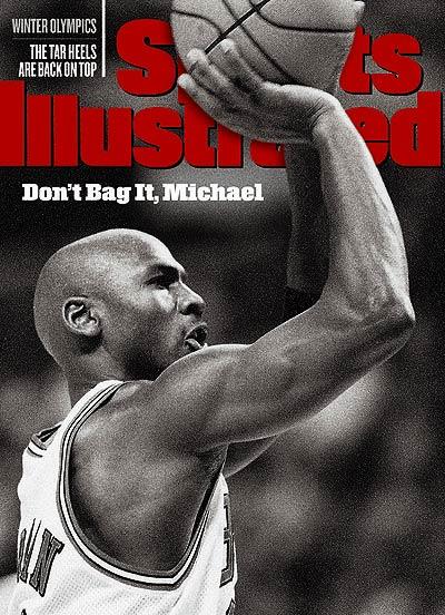 *Sports Illustrated:慶祝Michael Jordan 50歲生日封面特輯回顧! 2
