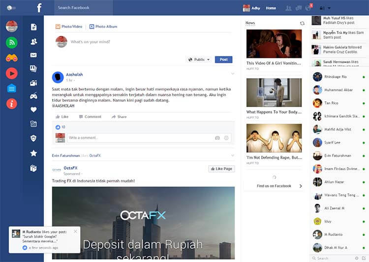 Kesal Dengan Loading Dan Iklan Facebook? Coba Flatbook