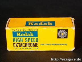 Kodak Ektachrome Tungsten