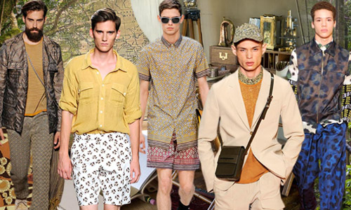 Men's Top 4 Trend Themes S/S 2016. Fashion Snoops