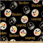 Pittsburgh Steelers Black Cloth Diaper