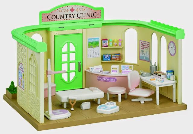 Phòng khám bệnh cho búp bê Coutry Doctor với đầy đủ các trang thiết bị hiện đại