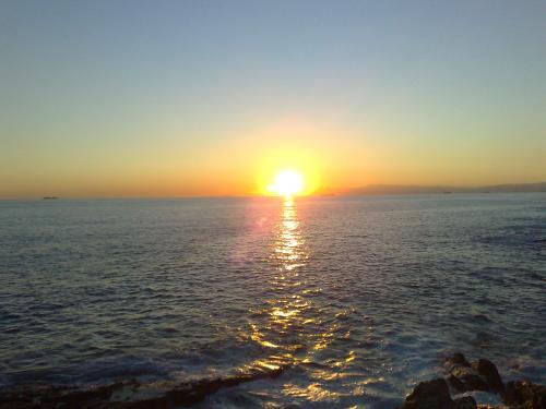 tramonto a GE-Nervi