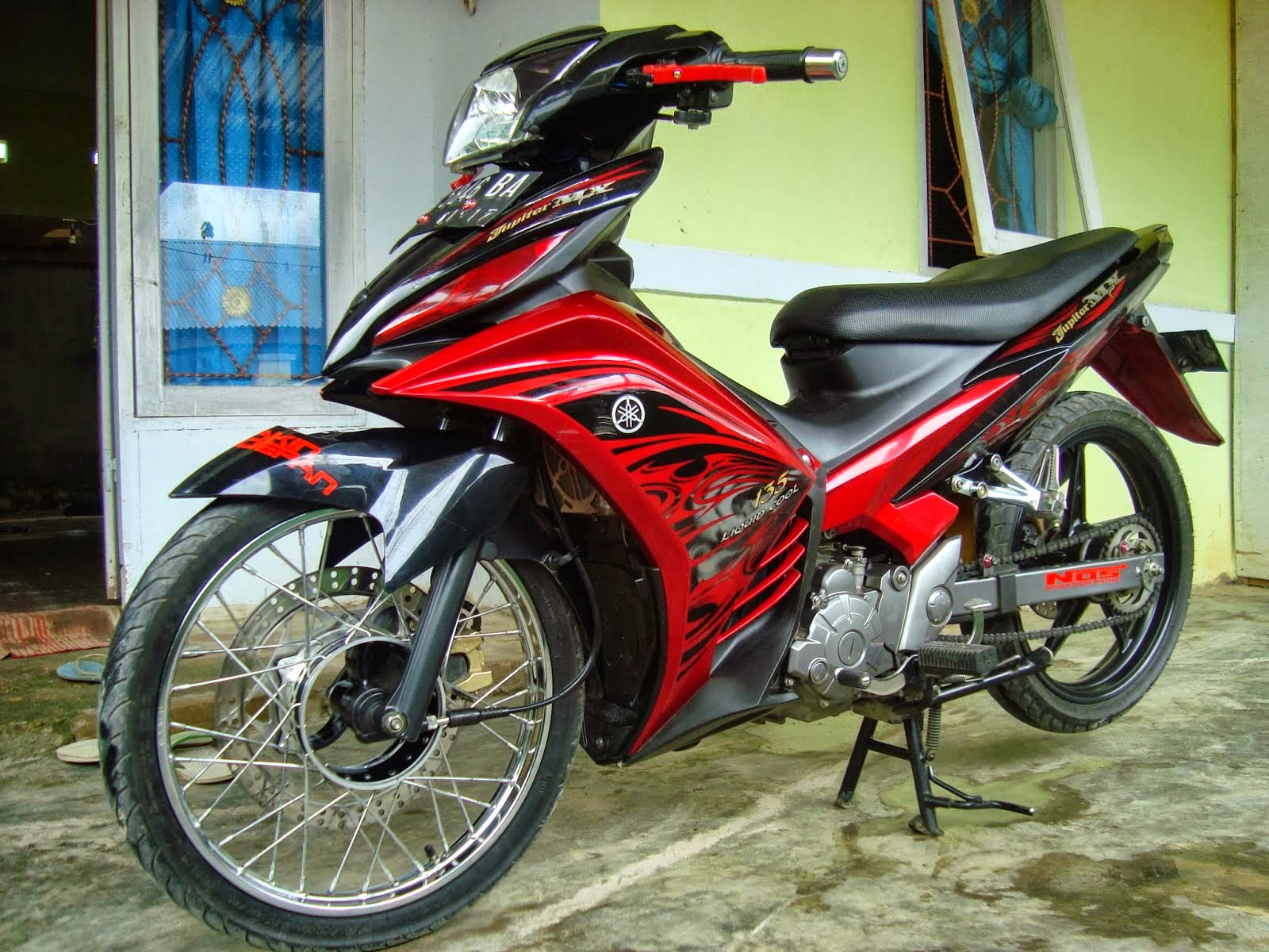 Modif New Jupiter Mx Underbone