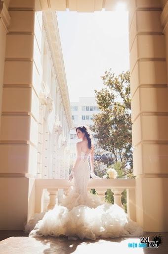 Ảnh cưới của siêu mẫu Ngọc Quyên - 5 Ảnh cưới của siêu mẫu Ngọc Quyên