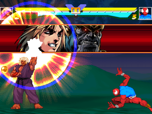 Ken Masters -ReHyped- for Win MUGEN & 1.+ Mugen008
