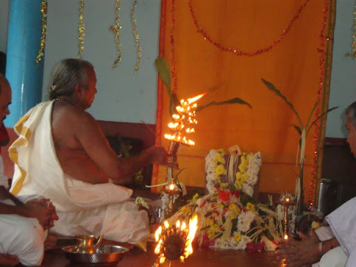 Shata rudra Puja at our home in Puttur | Sulekha Creative