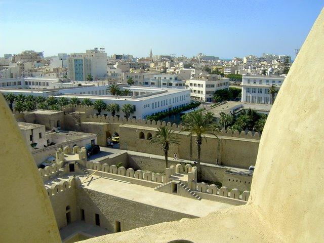 Вид на Сусс с крепости Рибат