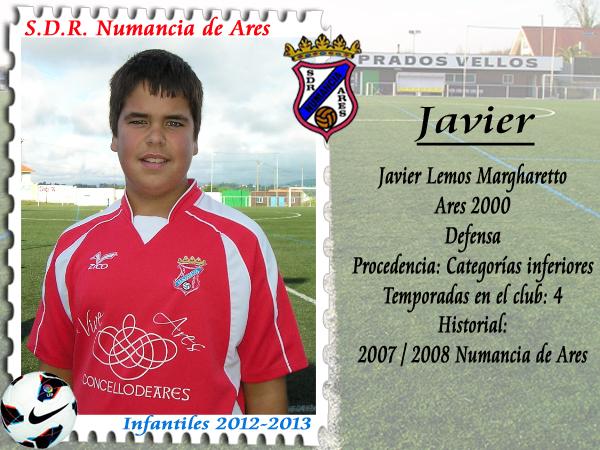 ADR Numancia de Ares. Javier.