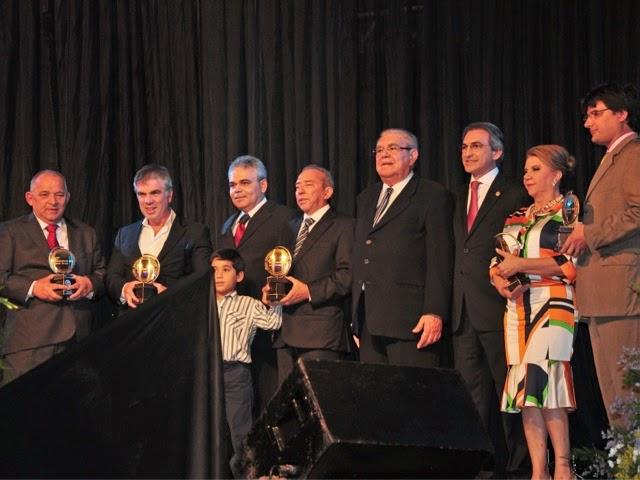 Fecomércio faz entrega do Mérito Jessé Freire a destaques do empresariado potiguar