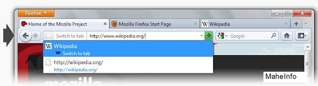 Firefox 4 with new features Tab Manager