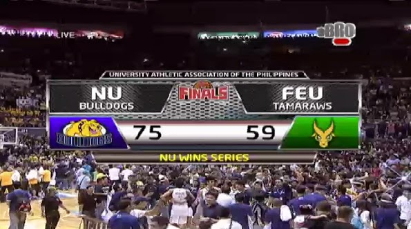 nu bulldogs win their first uaap title in 60 years