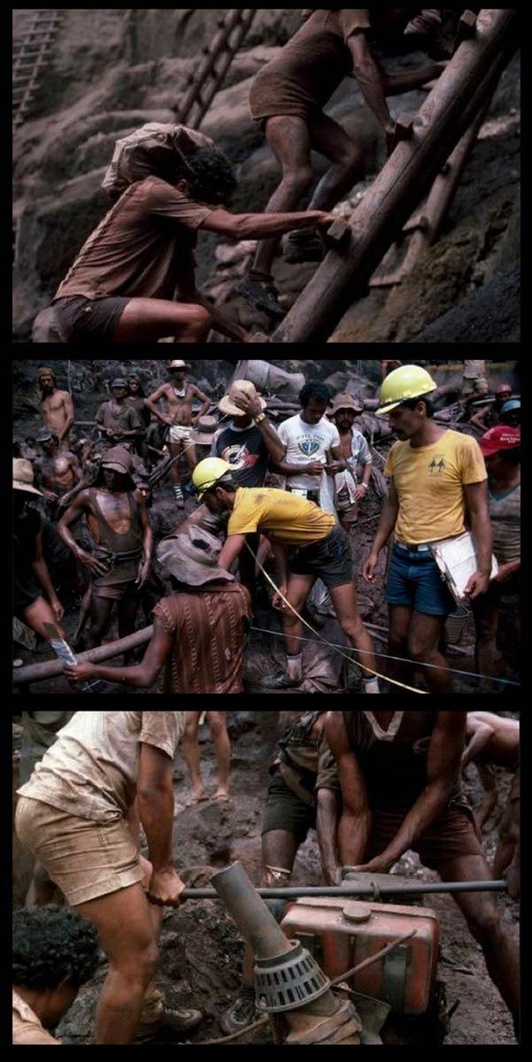 gold 05 Kehidupan Pelombong Emas Brazil Yang Sadis