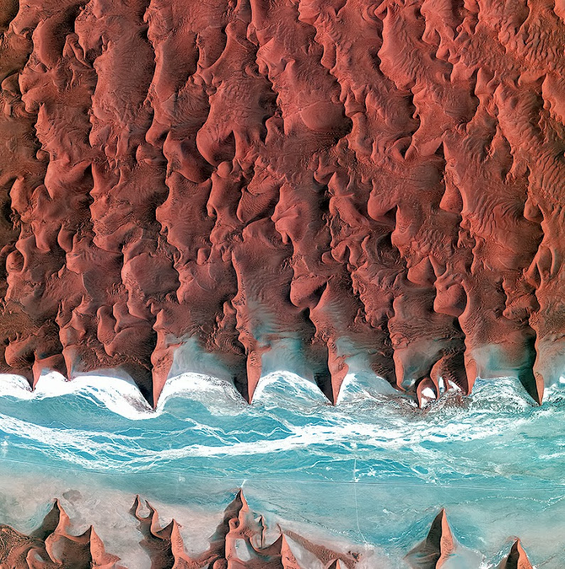 Photographs of Earth from the ESA Archive