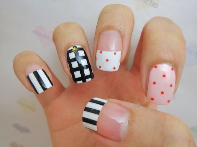 Cute Patterns Nail Wrap MDS1009