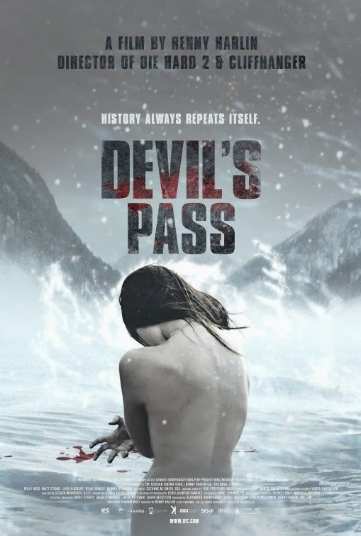 Poster Of English Movie Devil's Pass (2013) Free Download Full New Hollywood Movie Watch Online At Alldownloads4u.Com