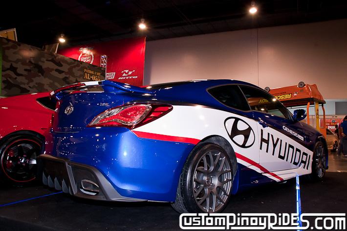Hyundai Genesis Coupe Body Kit Designs by Atoy Customs 2012 Manila Auto Salon Custom Pinoy Rides pic18