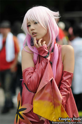 guilty crown cosplay - yuzuriha inori from japan comiket 82