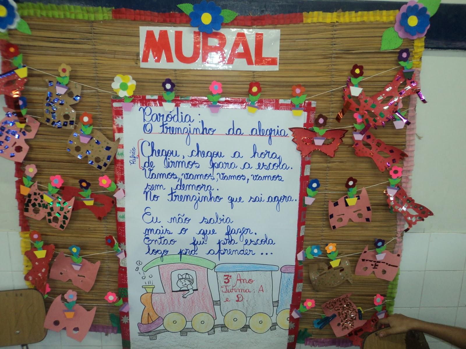 Educartes eva for Mural de isopor e eva
