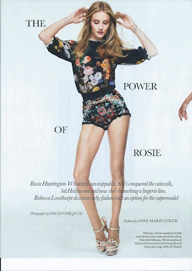 Rosie Huntington-Whiteley-Elle UK September 2012