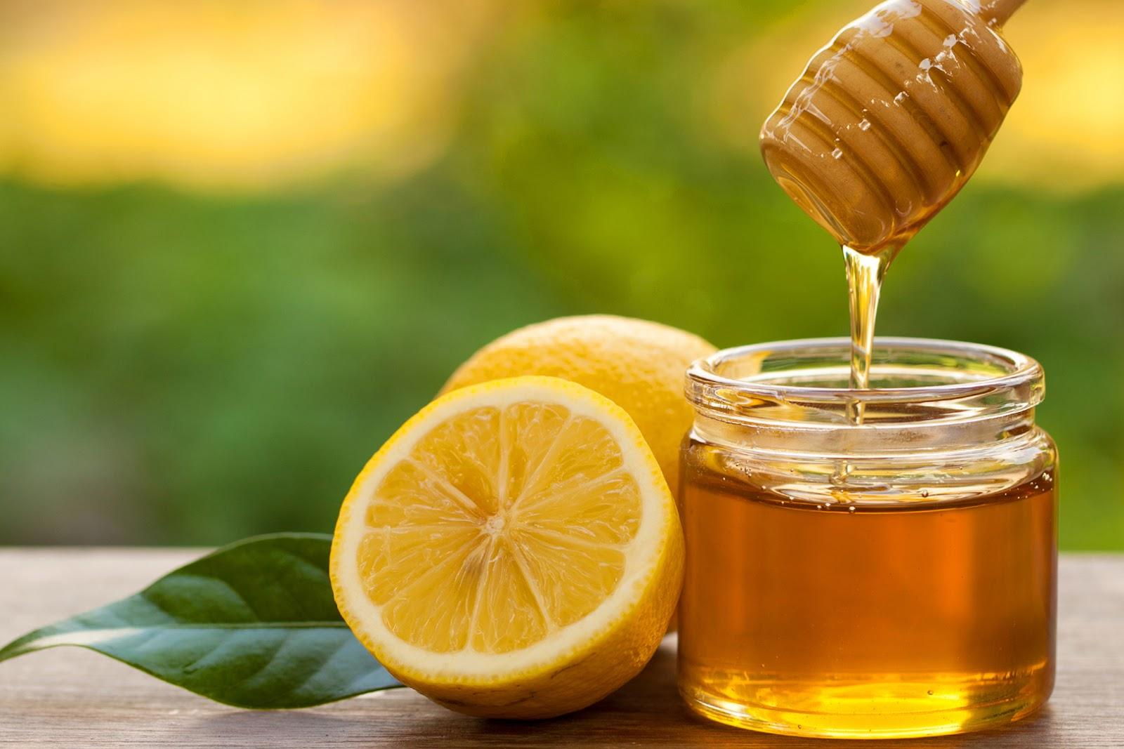 Giảm béo bụng dưới bằng chanh và mật ong