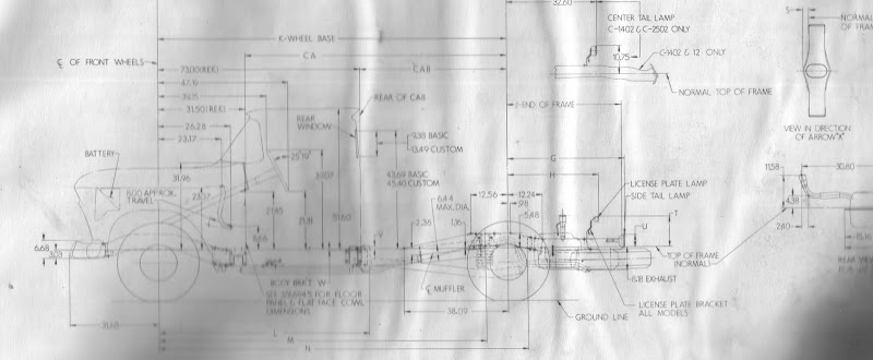 1960-66 Chevy  Gmc Truck Frame Diagram - Page 2