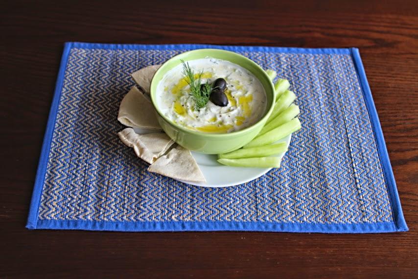Homemade Tzatziki - JadoreSha.com