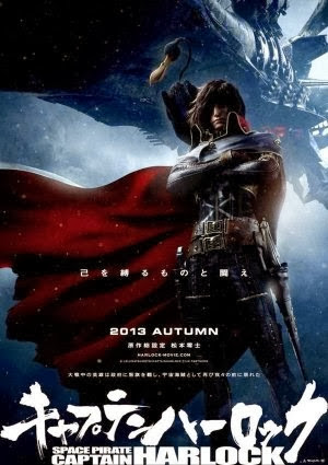 Thuyền Trưởng Harlock - Space Pirate Captain Harlock 2014