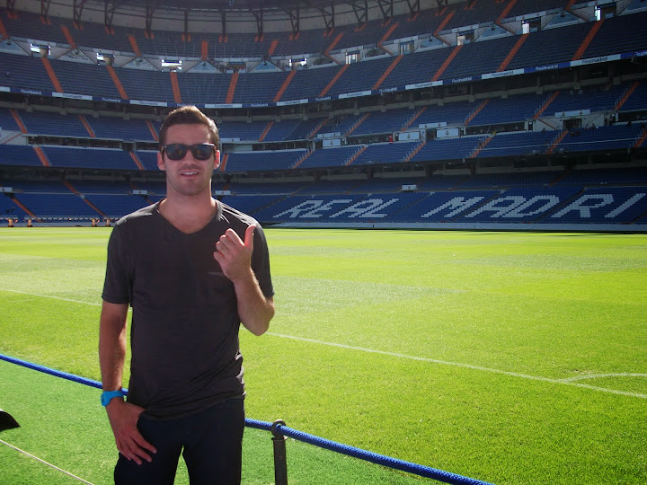 The Bernabeu in Madrid, Spain.  #StudyAbroadBecause... the world is worth it!