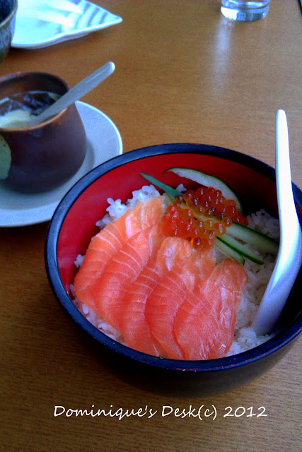 Salmon with Rice
