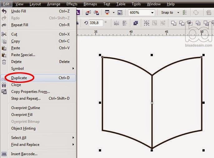 Gambar 07 - Cara Mudah Membuat Logo dengan Corel Draw