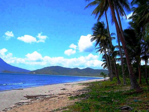 Long Beachfront at San Vicente Palawan