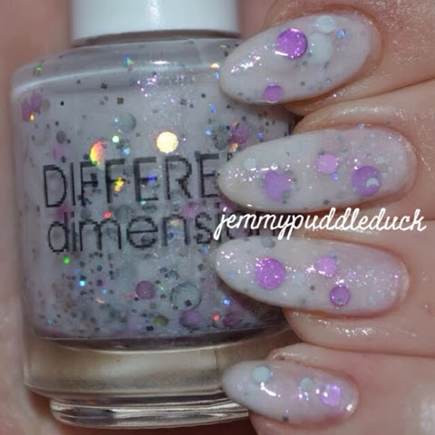different dimension nail polish today was a fairytale indie varnish