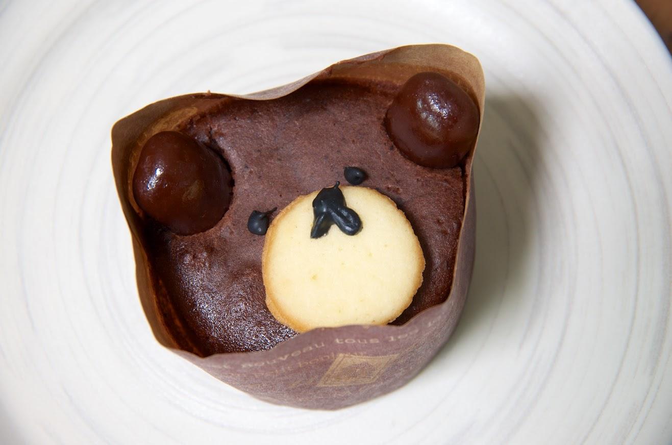 唯ちゃんが作る手作りケーキ「ベアマフィンちゃん」