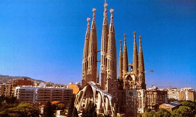 Sagrada Familia - Férias em Barcelona, Espanha