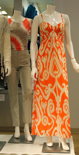 Tangerine is a Great Spring Color - Macy's Flower Show Event