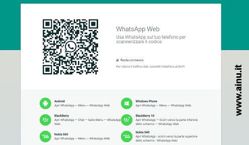 QR CODE Whatsapp Web
