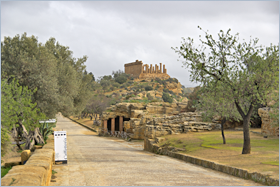 Sizilien - Agrigento - Tal der Tempel.