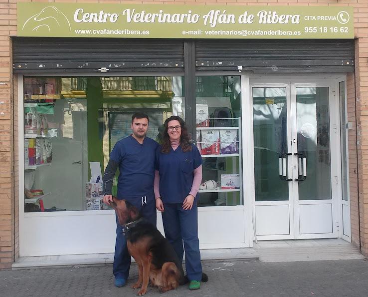 Equipo del Centro Veterinario Afán de Ribera
