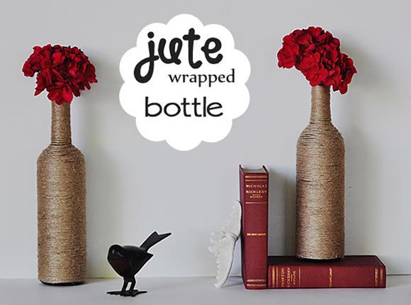 Decoração com garrafa